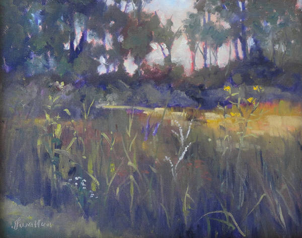 Painting - Kingwood Prairie by Judy Fischer Walton