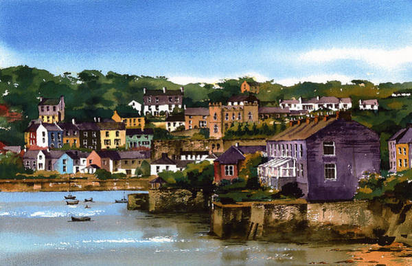 Painting - Kinsale Harbour West Cork by Val Byrne
