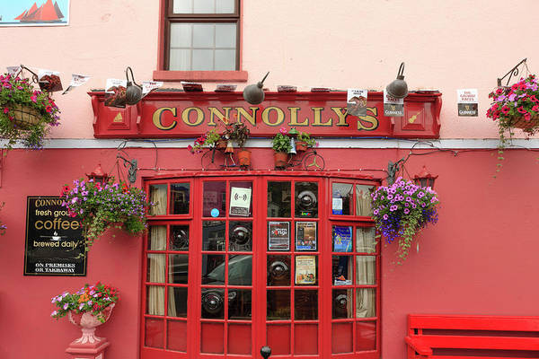 Storefront Photograph - Kinvarra, County Galway, Ireland by Tom Norring