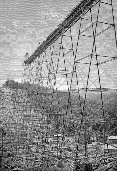 Engraving Photograph - Kinzua Bridge by Bildagentur-online/tschanz