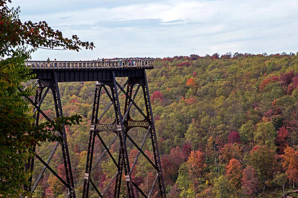 Photograph - Kinzua Bridge by Frank Morales Jr