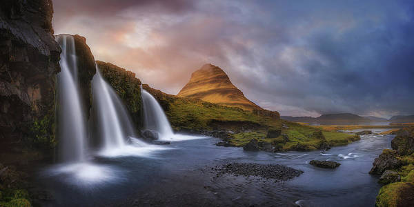 Panorama Wall Art - Photograph - Kirkjufell by Miguel Angel Martin