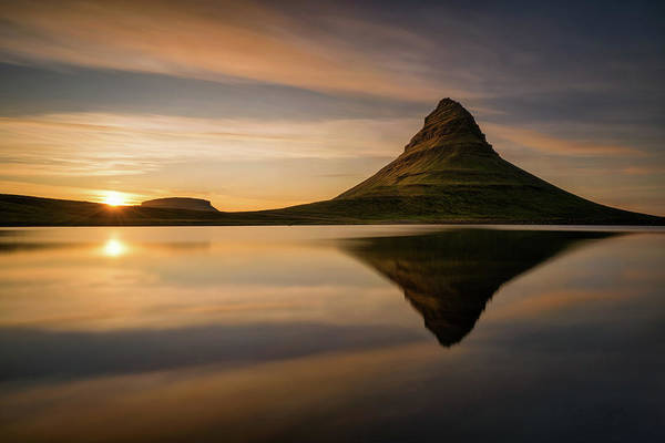 Mountain Peak Wall Art - Photograph - Kirkjufell by Wojciech Kruczynski