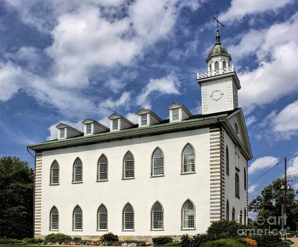 Photograph - Kirtland Temple by Richard Lynch