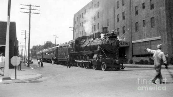 Outing Photograph - Kishacoquillas Valley Railroad, 1937 by Hagley Archive