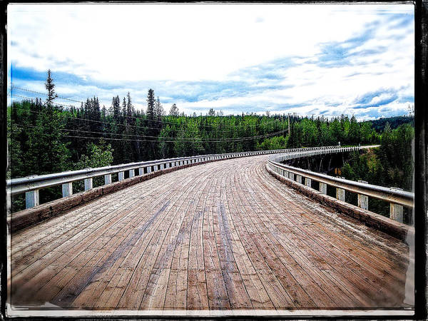 Photograph - Kiskatinaw Curved Bridge by Roxy Hurtubise