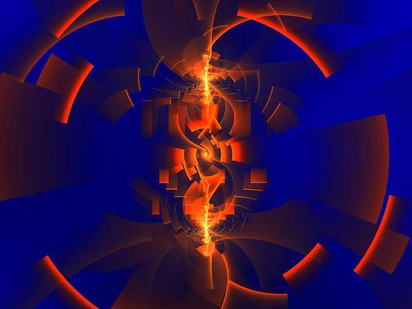 Digital Art - Kisosen by Jeff Iverson