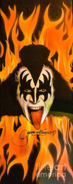 Photograph - Kiss The Demon by Gary Keesler