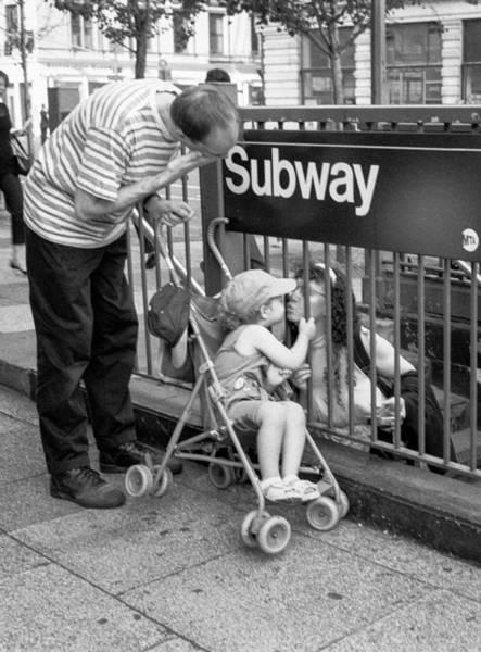 Photograph - Kiss Through Bars by Dave Beckerman