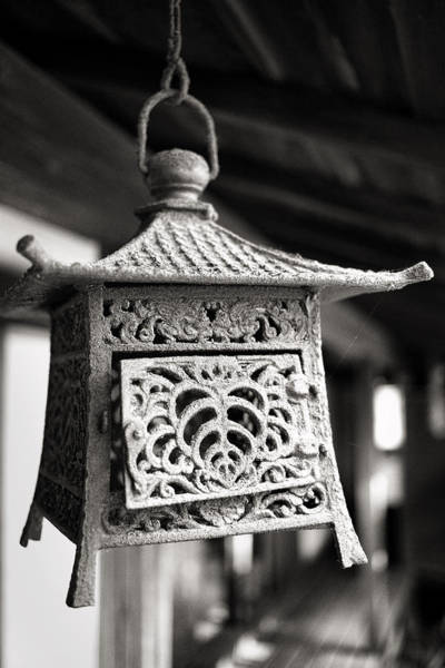 Photograph - Kita-in Temple Iron Lantern In Kawagoe by For Ninety One Days