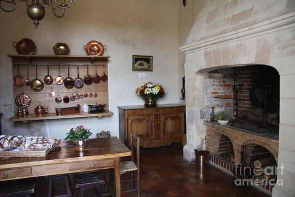 Villandry Photograph - Kitchen At Chateau Villandry  by Christiane Schulze Art And Photography