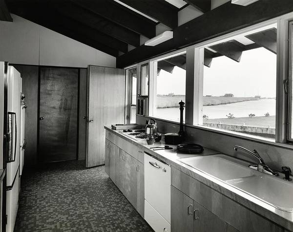 Tile Floor Photograph - Kitchen Designed By Raymond And Rayo by Pedro E. Guerrero