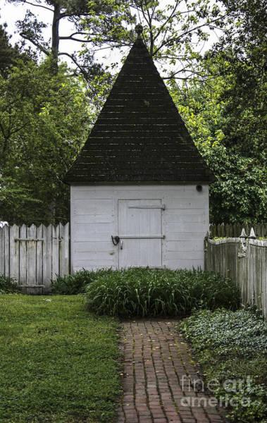 Historic Triangle Photograph - Kitchen Garden by Teresa Mucha