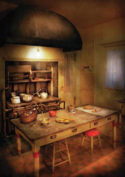 Grandpa Photograph - Kitchen - Granny's Stove by Mike Savad