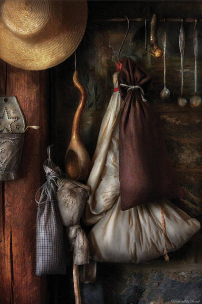 Photograph - Kitchen - In An Old Tavern  by Mike Savad