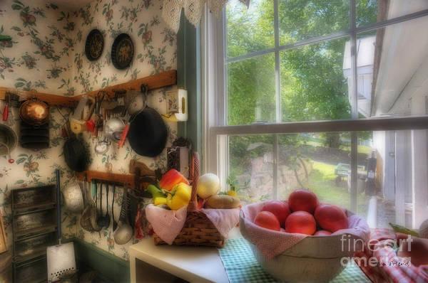 Photograph - Kitchen Scene By Window by Dan Friend