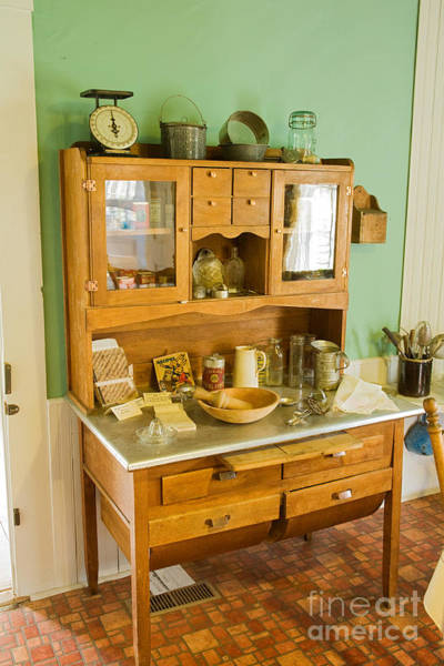 Photograph - Kitchen Side Board At The Macgregor Ranch by Fred Stearns