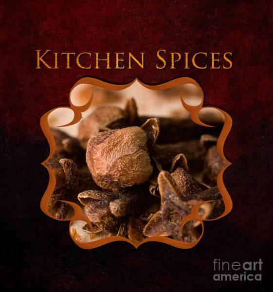 Wall Art - Photograph - Kitchen Spices by Iris Richardson