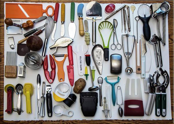 Redwood City Wall Art - Photograph - Kitchen Tools by Jill Clardy