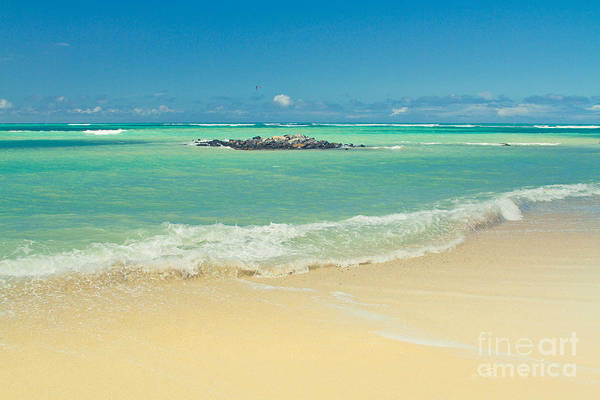 Kite Photograph - Kite Beach Maui Hawaii by Sharon Mau