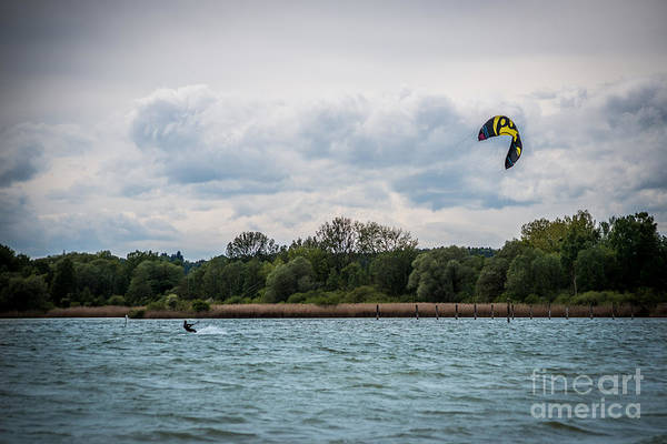 Photograph - Kite Surfing by Hannes Cmarits