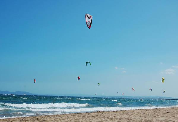 Kite Photograph - Kitesurf Lovers by Gina Dsgn