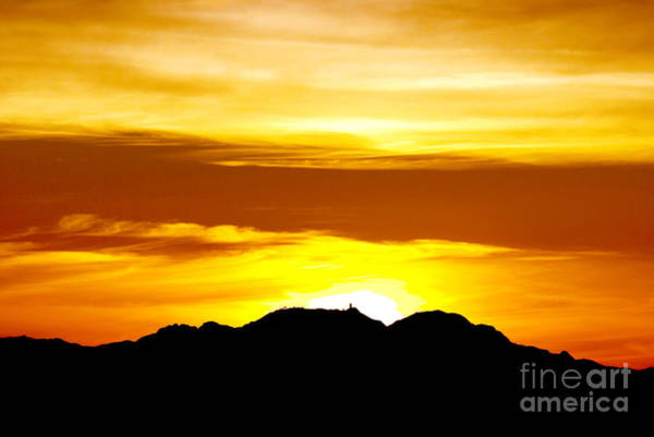 Wall Art - Photograph - Kitt Peak - Winter Solstice Sunset by Douglas Taylor