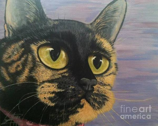 Painting - Kitty by Ana Marusich-Zanor