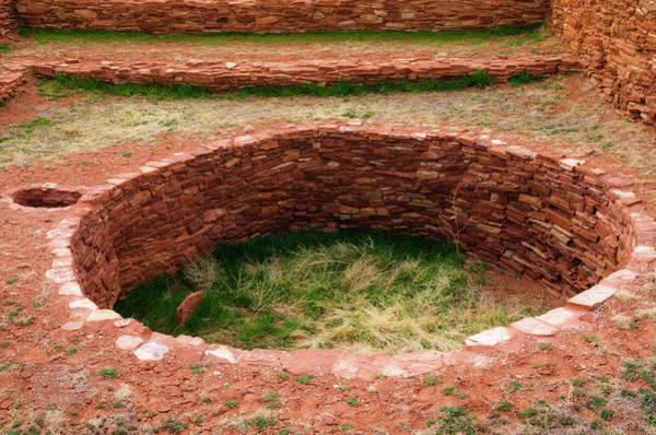 Franciscan Photograph - Kiva At Abo Ruins, Salinas Pueblo by Russ Bishop
