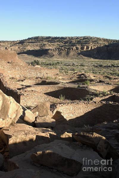 Photograph - Kivas Chaco Canyon by Steven Ralser