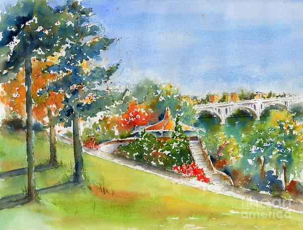 Painting - Kiwanis Park Lookout by Pat Katz