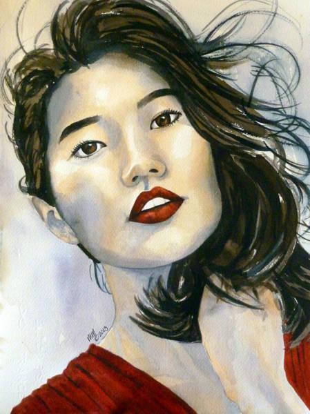 Kiyomi Art Print