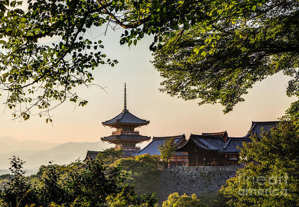 Photograph - Kiyomizu-dera In Kyoto Japan by Didier Marti