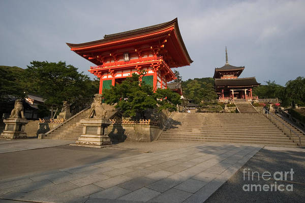 Kansai Region Wall Art - Photograph - Kiyomizu Temple by Ei Katsumata
