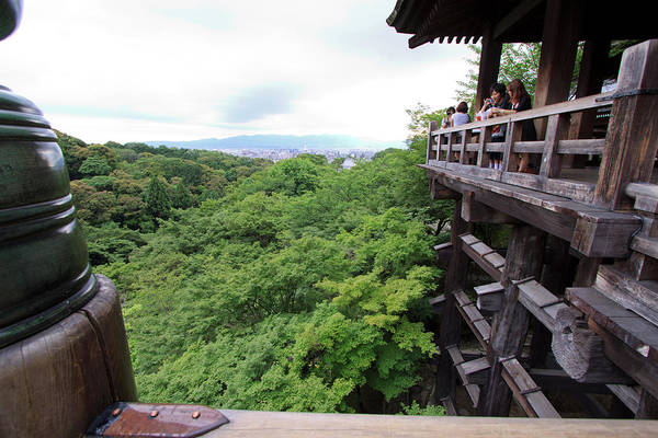 Kansai Wall Art - Photograph - Kiyomizudera Temple Is One Of Kyoto's by Paul Dymond