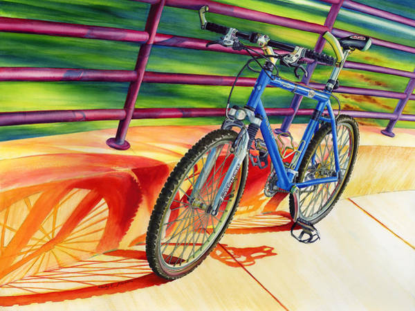 Bicycle Painting - Klein Pulse Comp by Hailey E Herrera