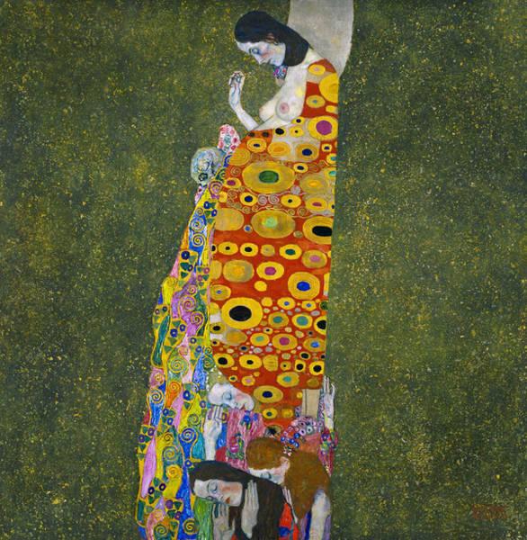 Painting - Klimt Hope, II by Granger