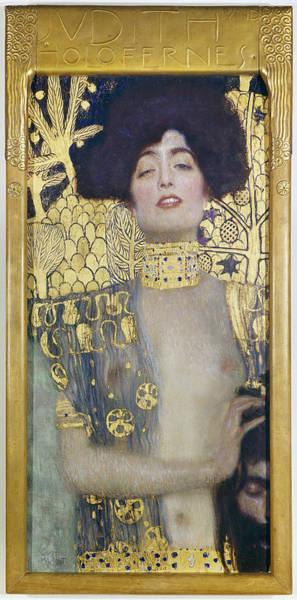 Painting - Klimt Judith I, 1901 by Granger