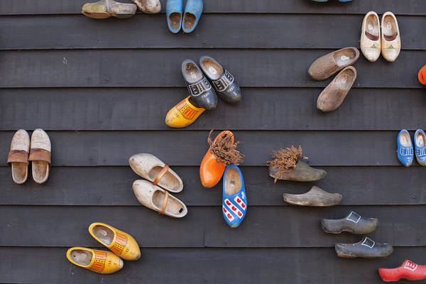 Wooden Shoe Photograph - Klompen by Joana Kruse