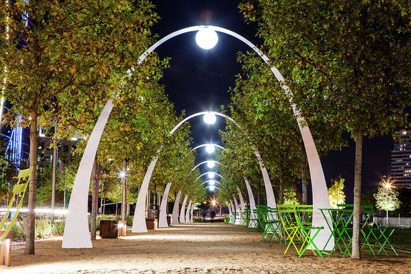Travel Destinations Photograph - Klyde Warren Park by Thorpeland Photography