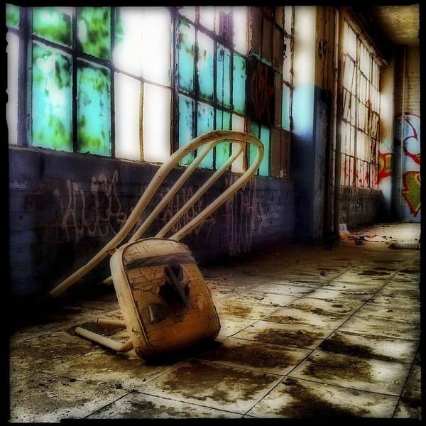 Wall Art - Photograph - Kneeling Chair by Elena Bouvier