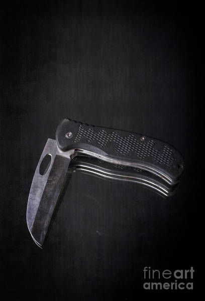 Photograph - Knife Blade by Edward Fielding