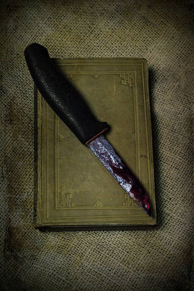 Wall Art - Photograph - Knife With Book by Joana Kruse