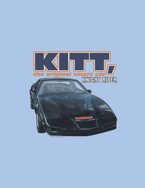 Shows Digital Art - Knight Rider - Original Smart Car by Brand A