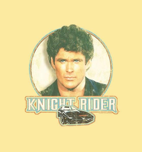 Tv Wall Art - Digital Art - Knight Rider - Vintage by Brand A