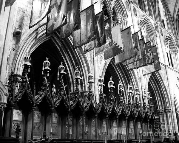 Photograph - Knights Of St Patrick 2 Bw by Mel Steinhauer