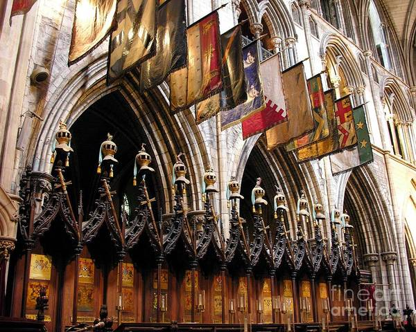 Photograph - Knights Of St. Patrick 2 by Mel Steinhauer