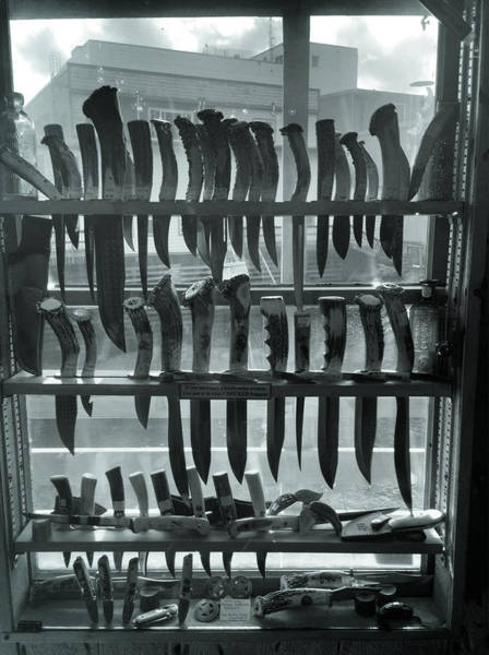 Photograph - Knives by Pat Moore