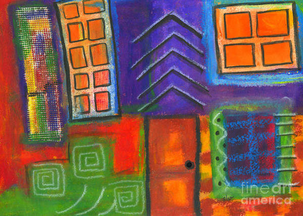 Understanding Painting - Knock And The Door Shall Be Opened by Angela L Walker