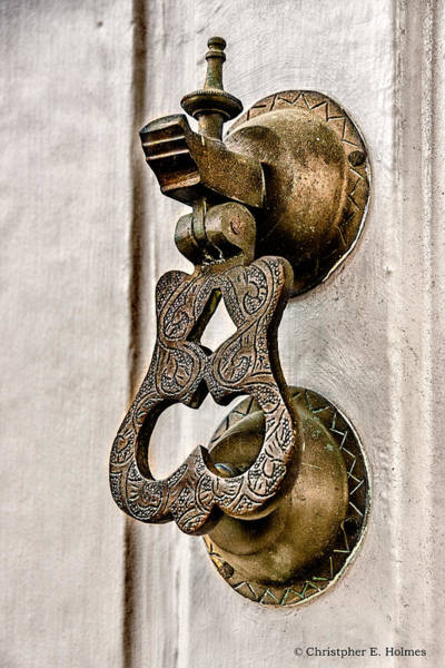 Photograph - Knock Knock by Christopher Holmes